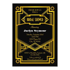 1920s Hollywood Style Bridal Shower Invitation starting at 2.61
