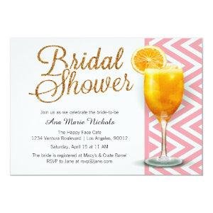 A Mimosa Bridal Shower Brunch Invitation starting at 2.51
