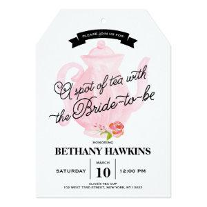 A Spot of Tea with the Bride-to-be | Bridal Shower Invitation starting at 2.76