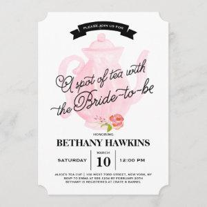 A Spot of Tea with the Bride-to-be | Bridal Shower starting at 2.76