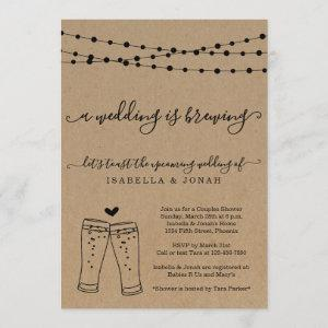 A Wedding is Brewing Bridal Shower Invitation starting at 2.56