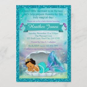 Adorable Mermaid Baby Shower Invitations #136 MED starting at 2.50
