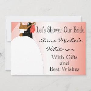 African American Bridal Shower Invitation starting at 2.77