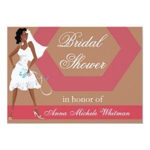 African American Bridal Shower Invitation starting at 2.82