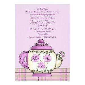 Afternoon Tea Birthday Party Invitation starting at 2.56