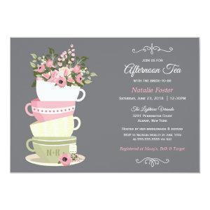 Afternoon Tea Bridal Shower Invitation starting at 2.36