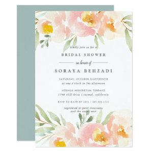 Airy Floral Bridal Shower Invitation starting at 2.26