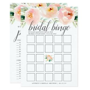 Airy Floral Double-Sided Bridal Shower Game Invitation starting at 2.26