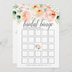 Airy Floral Double-Sided Bridal Shower Game Invitation starting at 2.51