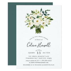 Alabaster Bouquet Bridal Shower Invitation starting at 2.26