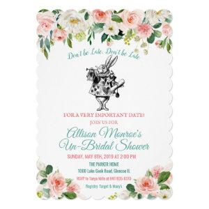 Alice in Wonderland Bridal Shower Invitation starting at 2.75