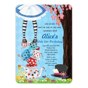 Alice in Wonderland Invitations starting at 2.65