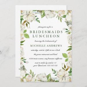 Antique Garden  Chic Bridesmaids Luncheon Wedding Invitation starting at 2.51
