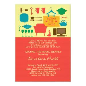 Around The House Bridal Shower Invitation starting at 2.61