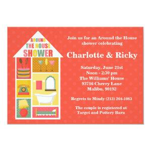 Around the House Couple Wedding Shower Invitation starting at 2.98