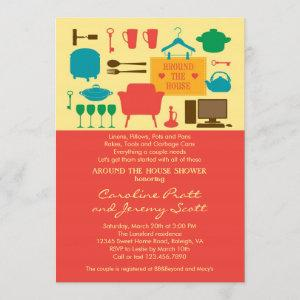 Around The House Couple's Bridal Shower Invitation starting at 2.61