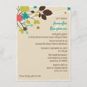 Around the House Couples Wedding Shower Invitation starting at 3.10