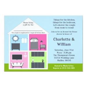 Around the House Shower Bridal Shower Invitation starting at 2.98