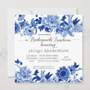 Asian Influence Blue White Floral Bridesmaids starting at 2.30