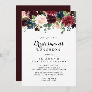 Autumn Calligraphy Bridesmaids Luncheon Shower starting at 2.51