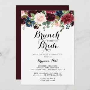 Autumn Calligraphy Brunch with the Bride Shower Invitation starting at 2.51