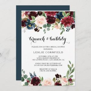 Autumn Rustic Brunch & Bubbly Bridal Shower Invitation starting at 2.51