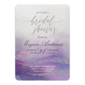 Awash Elegant Watercolor Bridal Shower Invitation starting at 2.75
