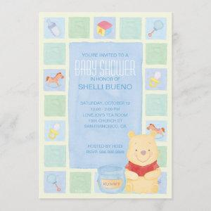 Baby Pooh and Hunny Baby Shower Invitation starting at 2.66