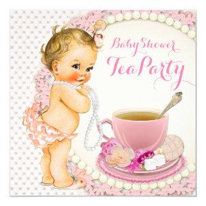 Baby Shower Tea Party Invitation starting at 2.40