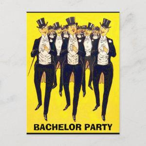 bachelor party invitation,groom shower invitation starting at 1.80