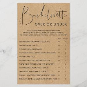 Bachelorette Party Games - Double Sided starting at 0.55