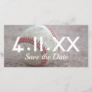 Baseball Save the Date starting at 2.57