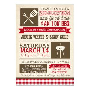 BBQ Shower Invitation - Couples, Weddings, Bridal starting at 2.77