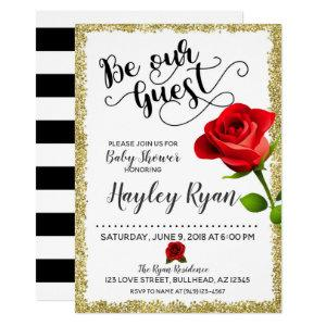 Be Our Guest Baby Shower Invitation starting at 2.45