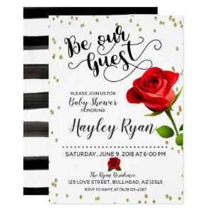Be Our Guest Baby Shower Invitation starting at 2.55