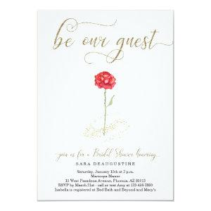 Beauty & the Beast Bridal Shower Invitation starting at 2.61