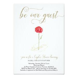 Beauty & the Beast Couple's Wedding Shower Invitation starting at 2.61