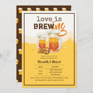 BEER - Love is Brewing Wedding or Bridal Shower starting at 2.40