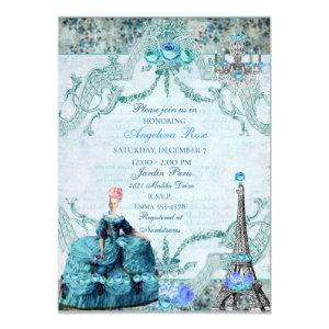 Bella Blue Marie Antoinette Invitation starting at 2.51