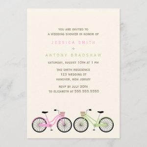 Bicycles His and Hers Bridal Shower Invitation starting at 2.66