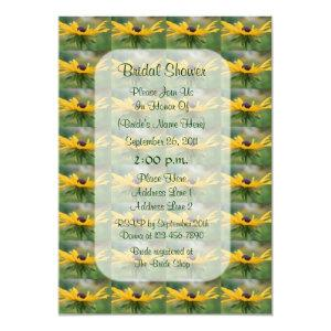 Black Eyed Susan Floral Bridal Shower Invite starting at 2.66