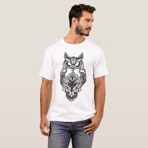Black Owl Henna Style Women_s Wildlife Nature Know T-Shirt starting at 17.95