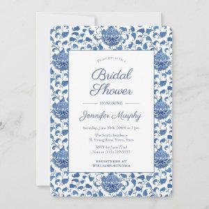 Blue And White Antique Chinoiserie Bridal Shower starting at 2.86