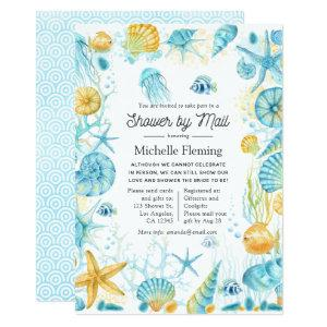 Blue and Yellow Sea Life Shower by Mail Invitation starting at 2.66