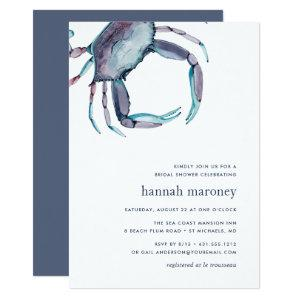 Blue Crab Bridal Shower Invitation starting at 2.51