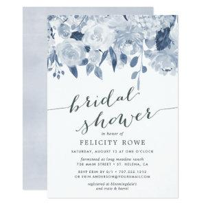 Blue Midsummer Floral | Bridal Shower Invitation starting at 2.26