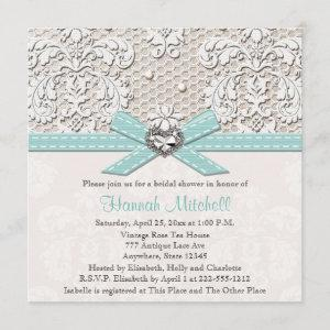 Blue Pearl Lace Diamond Bridal Shower starting at 2.51