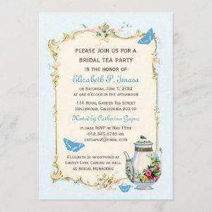 Blue Vintage French Bridal Tea Party starting at 2.51