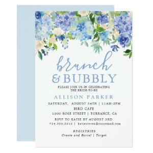 Blue Watercolor Hydrangea Brunch & Bubbly Cards starting at 2.61