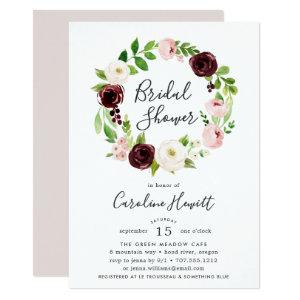 Blush Romance Bridal Shower Invitation starting at 2.26